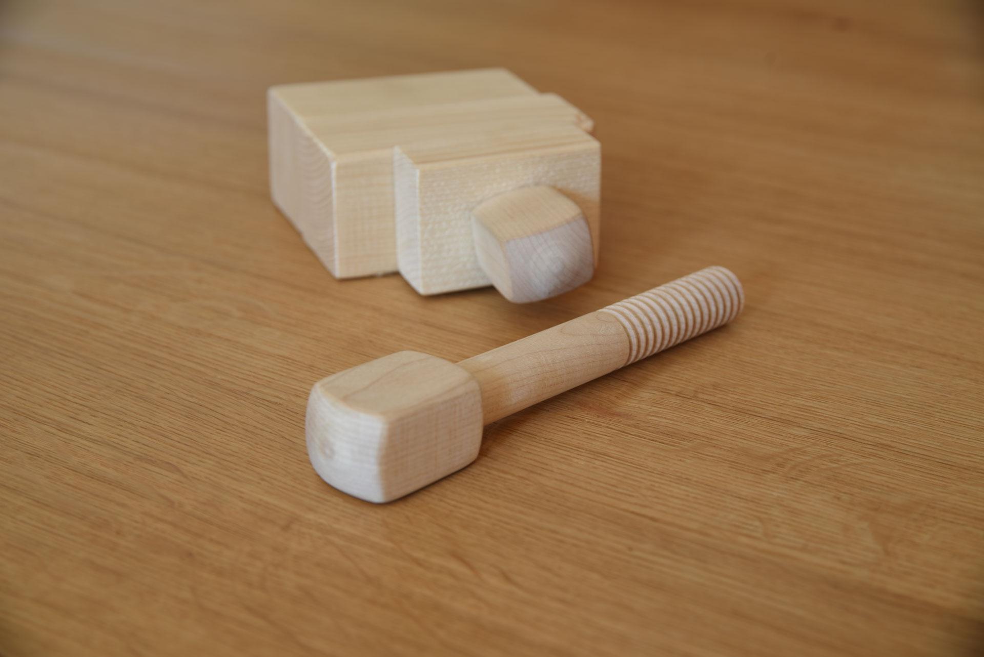 Mondholz Holzschraube