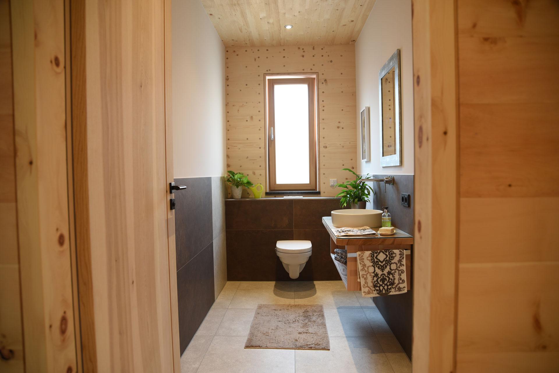 Probewohnung Bad und WC