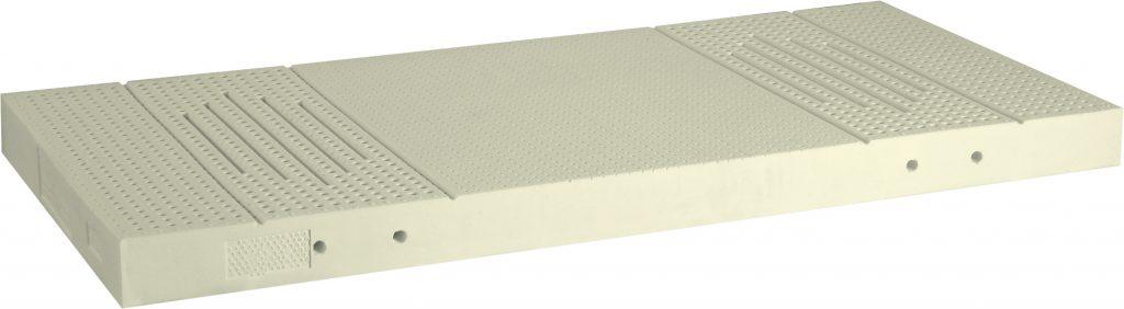 5-Zonen Matratze Naturlatexkern-12cm