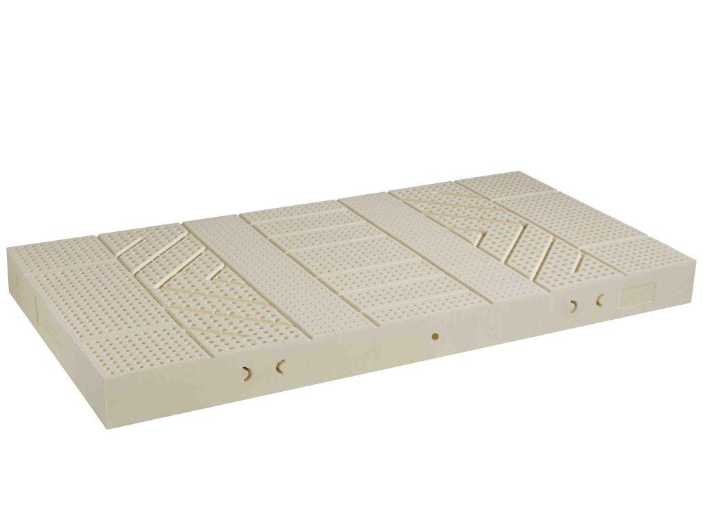 7-Zonen Matratze mit Naturlatexkern 15cm